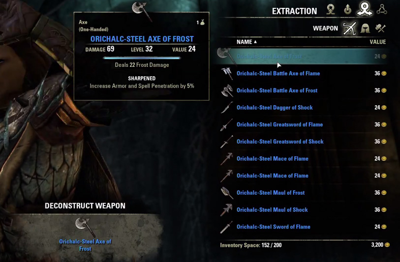 Eso Level  Crafting Material
