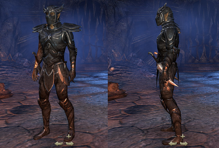 Altmer Nightblade Medium Armor