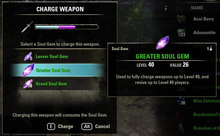 how to put souls in soul gems skyrim