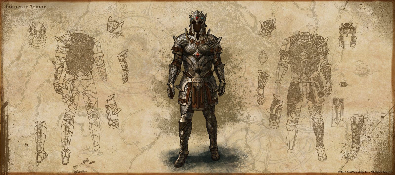 Emperor Armor Set in ESO