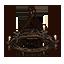 Breton Chandelier Wrought Iron